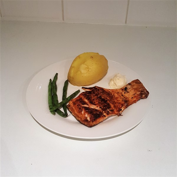 031 - Cayenne Pepper Grilled Salmon