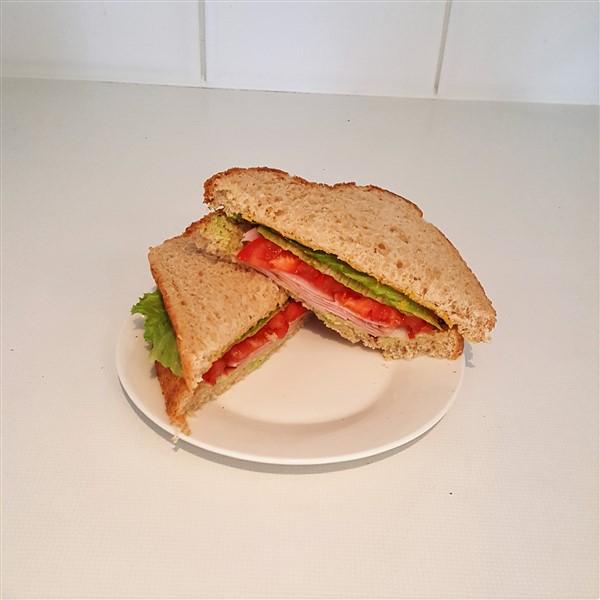 034 - Ham Salad Sandwich