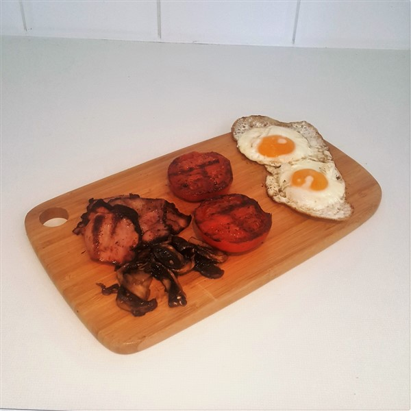036 - Low Carb Bacon & Egg Breakfast