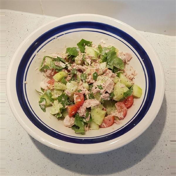 045 - Deconstructed Tuna Salad Sandwich - Gluten Free
