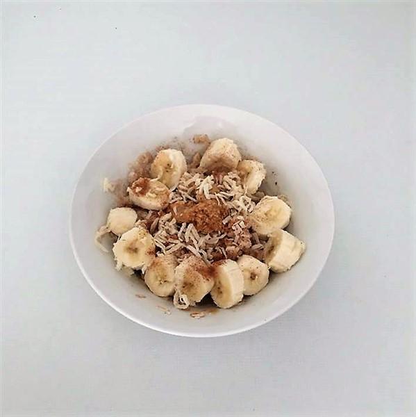 046 - Oats Banana Peanut Butter